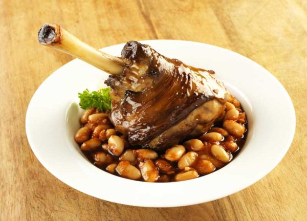 Braised Lamb Shanks with Cannellini Beans